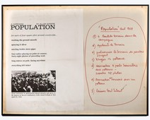 Population - A happening by Allan Kaprow