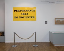 Performance area do not enter